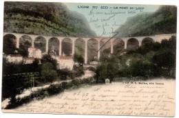 CP, 06, LIGNE DU SUD - Le Pont Du Loup, Dos Simple, Voyagé En 1903 - Francia