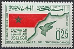 Maroc, N° 498** Y Et T - Marokko (1956-...)