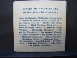 Puz. 3. Petit Puzzle Du Centre De Vacances Des Mutualités Chrétiennes. - Puzzles