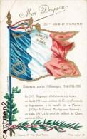 265eme REGIMENT D'INFANTERIE CAMPAGNE CONTRE L'ALLEMAGNE GINCHY MOULINS SOUS TOUVENT VILLIERS-ST-GENEST QUENNEVIERES - Regimenten