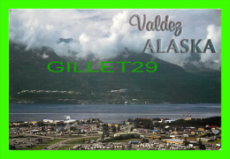 VALDEZ, ALASKA - VIEW ON THE CITY - PHOTO BY JACK ANDERSON - ALASKA JOE - - United States