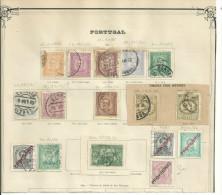 16 TIMBRES Anciens Du PORTUGAL..dans Les  N° 66  à  84 ..++.........à ...VOIR.... - Non Classés