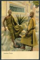 Buddist Priests - Fine Unused Postcard - Buddhism