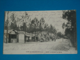33) Camp De Souges ( Saint Médard-en-jalles ) Route Conduisant Au Camp  - Année 1915 - EDIT- Dufresne - France