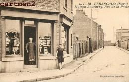 PERENCHIES MAISON BOUCHERY RUE DE LA POSTE DEVANTURE COMMERCE 59 NORD - Frankreich