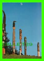 KLAWOCK, ALASKA  - TOTEM POLES - PHOTO, KELLY LOUDON - - United States