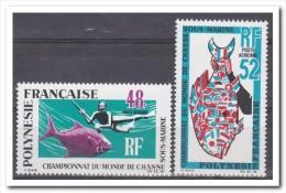 Frans Polynesie 1969, Postfris MNH, World Cup In Underwater Hunting - Frans-Polynesië