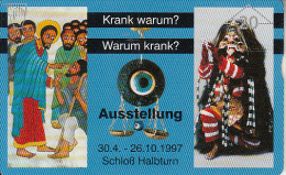 AUSTRIA - Schloss Halbturn 1, CN : 703L, Tirage 1010, 03/97, Used - Oostenrijk