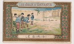 Image Chromo. Chocolat Rationnel Des Pharmaciens Français. Les Jeux D'enfants. Le Biribi. - Sin Clasificación