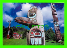 KETCHIKAN, ALASKA  - SAXMAN TOTEM PARK - TOTEM POLES - PHOTO BY KIM HEACOX/ KEN GRAHAM AGENCY - - United States
