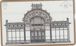 AUSTRIA - Karlsplatz, Kunst/Otto Wagner, CN : 004L, Tirage 760, 04/00, Used - Oostenrijk