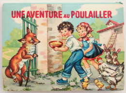 LIVRE A SYSTEME - POP UP - UNE AVENTURE AU POULAILLER - JEUNESSE - SERIE FAVORITE - ED. PICCOLI - ANIMAUX