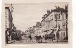 GISORS (27) / COMMERCES / ATTELAGES / Cycles, Autolobiles Et Fabrique D'armes / La Rue Du Bourg Et Attelage /Animation - Gisors