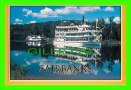 FAIRBANKS, ALASKA  - THE RIVERBOAT, DISCOVERY III - ARTIC CIRCLE ENTREPRISES - - Fairbanks
