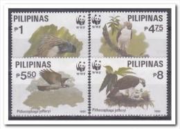 Philipijnen 1991, Postfris MNH, WWF, Birds Of Prey - Philippines