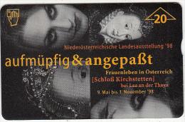 AUSTRIA - No Landesausstellungi, CN : 802L, Tirage 1010, 02/98, Used - Oostenrijk