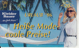 AUSTRIA - Kleider Bauer, CN : 604L, Tirage 20000, 04/96, Used - Austria