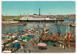 "Belgique - OOSTENDE - Maalboot En Het ""Steentje"" - La Malle Et L'arrivage Du Poisson - N° 933/136 - 1973 - Mail-boat - Oostende"