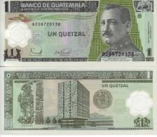 GUATEMALA 1 QUETZAL 2006 POLYMER FDS UNC - Guatemala