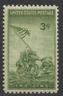1945 3 Cents Iwo Jima Mint Never Hinged - Verenigde Staten
