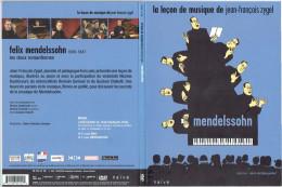 LA LECON DE MUSIQUE DE JEAN FRANCOIS ZYGEL MUSIQUE DE MENDELSSOHN NICOLAS DAUTRICOURT ROMAIN GARIOUD ET QUATUOR DIABELLI - Concerto E Musica