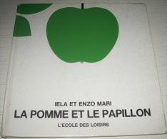 livre JEUNESSE : la pomme et le papillon - MARI - l'�cole des loisirs