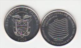 2009  PANAMA BALBOA 1/2 Unc - Panama