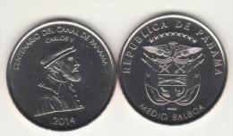 2014  PANAMA BALBOA 1/2 Unc - Panama