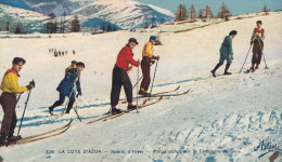 SPORTS D'HIVER PREPARATIFS POUR LE CONCOURS DE SKI(dil87) - Cartes Postales
