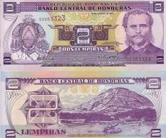 HONDURAS 2 LEMPIRAS 2004 FDS UNC - Honduras