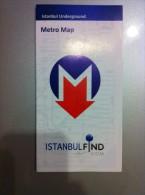 Transit Map Istambul / Turkey - Metro - U Bahn - Tram / Tramway / Strassenbahn - World