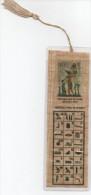 Marque Page Papyrus égyptien, Hyéroplyphe, Alphabet - Marque-Pages