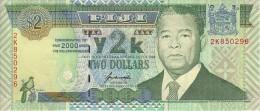 FIJI   2 Dollars  Commemoratif Année 2000   Pick 102      ***** BILLET  NEUF ***** - Fidji