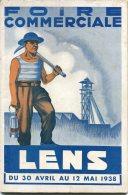 59 - LENS - PROGRAMME DE LA 2E FOIRE COMMERCIALE - 30 AVRIL AU 12 MAI 1938 - PROGRAMME - Libri, Riviste, Fumetti