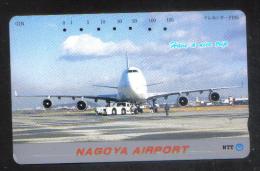 JAPAN   - AIRPLANE  PHONECARD - Avions