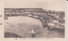 Dieppe Vue Généraie De L´Avant Port Et De Quai Henry IV - Dieppe