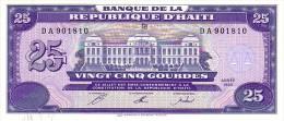 HAÏTI   25 Gourdes Emission De 1993   Pick 262        ***** BILLET  NEUF ***** - Haiti