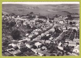 Chateau-Salins - Vue Aérienne - Le Centre (il Y A Beaucoup De Petits Jardins Individuels) Circulé 1958 - Chateau Salins