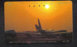 JAPAN   - AIRPLANE  PHONECARD - Flugzeuge