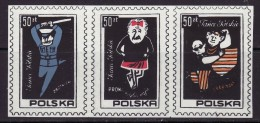 POLAND SOLIDARNOSC - 1987 POLISH DANCES  MNH - Solidarnosc-Vignetten