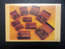 Calendrier petit format :CHOCOLATS : ALAIN BATT � Nancy, Beaune, Dinard, Langres, Strasbourg, Abu-Dhabi et Dubai (Emirat