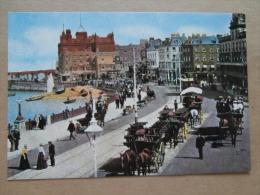 37805 REPRODUCTION POSTCARD: KENT: The Parade & Harbour, Margate, 1906. - Margate