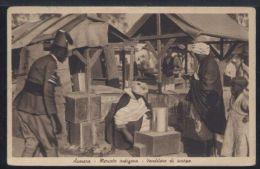 WC220 ASMARA - MERCATO INDIGENO ,VENDITORE DI SCARPE - Erythrée