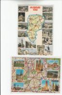 AISNE ( 2 Cartes ) - France