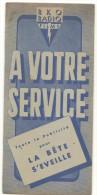 TOUTE LA PUBLICITE POUR : LA BETE S EVEILLE ( THE SLEEPING TIGER ) DE VICTOR HANBURY - Cinema Advertisement