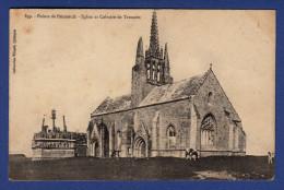 29 SAINT-JEAN-TROLIMON Eglise Et Calvaire De Tronoën ; Vaches - Saint-Jean-Trolimon
