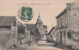 PERNANT (02) PRES SOISSONS - RUE PRINCIPALE - France