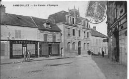 RAMBOUILLET : La Caisse D'Epargne - Belle CPA Postée En 1907 - Rambouillet