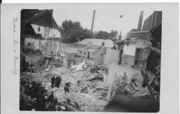 ROUBAIX : Guerre De 1914-1918 - Rare CPA Photo Non Utilisée - Rue De Tourcoing - Roubaix
