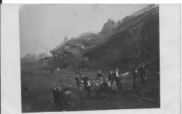 ROUBAIX : Guerre De 1914-1918 - Rare CPA Photo Non Utilisée - La Gare Détruite - Roubaix